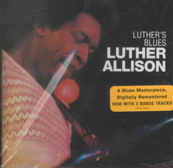 LUTHER'S BLUES BY ALLISON,LUTHER (CD)